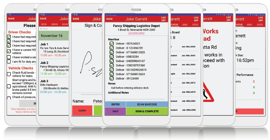 MyBuddy mobile tracking application.